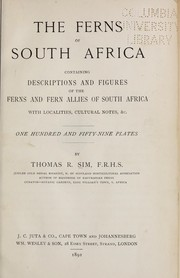 Cover of: The ferns of South Africa | Thomas Robertson Sim