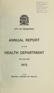 Cover of: [Report 1973]