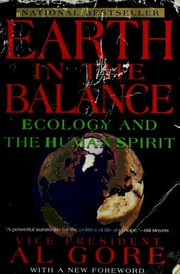 Cover of: Earth in the balance | Al Gore