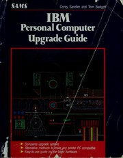 Cover of: IBM personal computer upgrade guide | Tom Badgett
