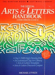 Cover of: The official Arts & letters handbook