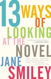 Cover of: 13 Ways of Looking at the Novel
