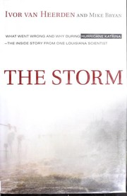 Cover of: The storm | Ivor Ll Van Heerden