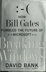 Cover of: Breaking Windows | David Bank