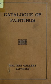 Cover of: The Walters collection, Baltimore