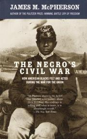 Cover of: The Negro's Civil War