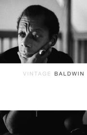 Cover of: Vintage Baldwin | James Baldwin