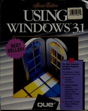 Cover of: Using Windows 3.1