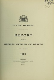 Cover of: [Report 1953] | Aberdeen (Scotland). City Council