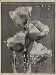 Cover of: Autumn 1920 [catalog] | Thomas J. Grey Company