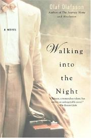 Cover of: Walking into the Night