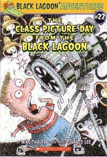Black Lagoon Book Cover ~ Black lagoon adv book class picture day edition