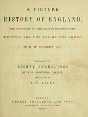 Cover of: A picture history of England from the invasion of Julius C©Œsar to the present time