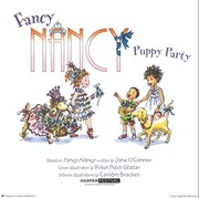 Fancy Nancy puppy party