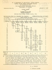 Volume table for eastern white pine (Pinus strobus), Mohican River Gorge, Holmes County, Ohio
