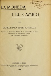 Cover of: La moneda y el cambio