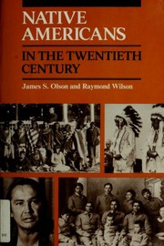 Cover of: Native Americans in the twentieth century