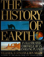 Cover of: The history of earth