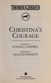 Cover of: Christina's courage