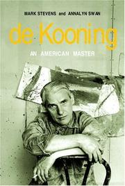 Cover of: De Kooning by
