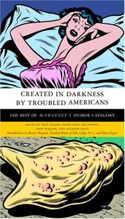 Cover of: Created in darkness by troubled Americans