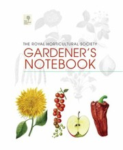 Cover of: The Royal Horticultural Society Gardeners Notebook