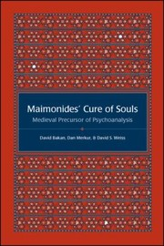 Cover of: Maimonides Cure Of Souls Medieval Precursor Of Psychoanalysis