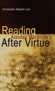 Cover of: Reading Alasdair Macintyres After Virtue