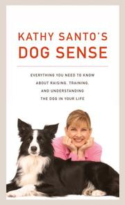 Cover of: Kathy Santo's Dog Sense