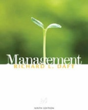 Cover of: Study Guide for Dafts Management
