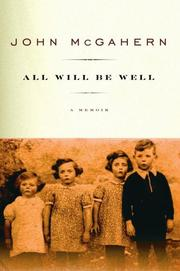 Cover of: All Will Be Well