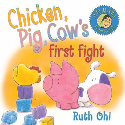 Chicken Pig Cows First Fight by