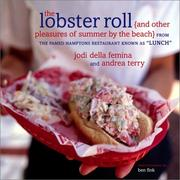 Cover of: The lobster roll and other pleasures of summer by the beach