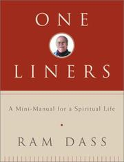 Cover of: One-Liners | Ram Dass.