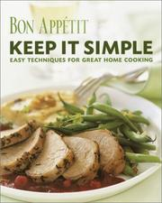 Cover of: Bon Appetit: Keep It Simple