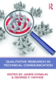 Cover of: Qualitative Research In Technical Communication