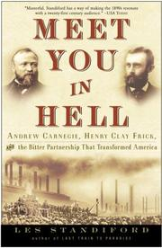 Cover of: Meet You in Hell | Les Standiford