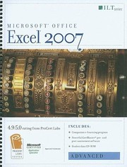 Cover of: Excel 2007 Advanced Student Manual