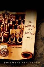 Cover of: The secret life of a schoolgirl
