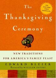 Cover of: Thanksgiving Ceremony