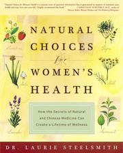 Cover of: Natural Choices for Women's Health