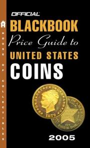 Cover of: The Official Blackbook Price Guide to U.S. Coins 2005, 43rd Edition (Official Blackbook Price Guide to United States Coins)