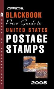 Cover of: The Official Blackbook Price Guide to U.S. Postage Stamps 2005, 27th Edition (Official Blackbook Price Guide to United States Postage Stamps)
