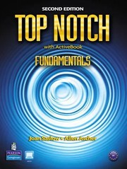 Cover of: Top Notch Student Book With Cdrom Fundamentals