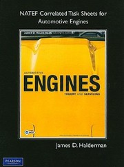 Cover of: Natef Correlated Task Sheets For Automotive Engines Theory And Servicing