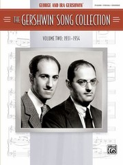 Cover of: The Gershwin Song Collection