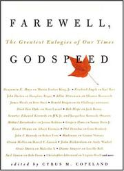 Cover of: Farewell, Godspeed