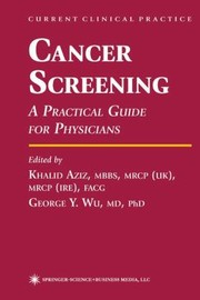 Cover of: Cancer Screening