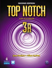 Cover of: Top Notch English For Todays World With Workbook
