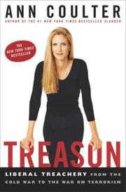 Cover of: Treason: Liberal Treachery from the Cold War to the War on Terrorism